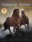 Horses in Action! - A Poster Book