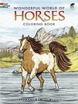 Wonderful World of Horses Coloring Book