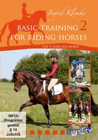 Basic Training for Riding Horses DVD  Vol. 2, The 5 year old horse